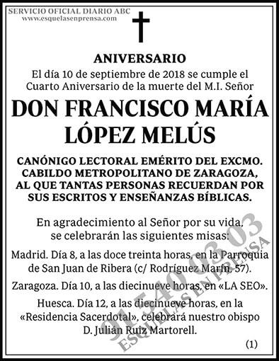 Francisco María López Melús